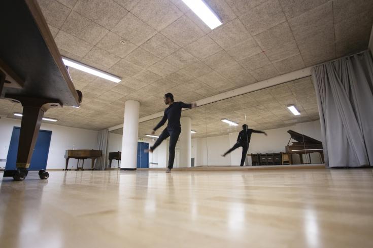Studio de répétition_Site du Marais_Crédit Maurine Tric